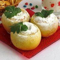 печеные яблоки калорийность
