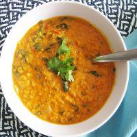 суп из красной чечевицы постный