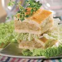 Шарлотка з капустою – рецепт