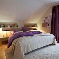 Tv height bedroom