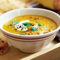 суп пюре из красной чечевицы