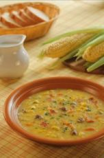 как приготовить кукурузный суп
