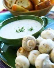 Крем суп пюре грибной