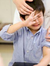 Нервный срыв у ребенка