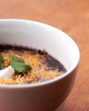 сладкий суп-пюре из бобов