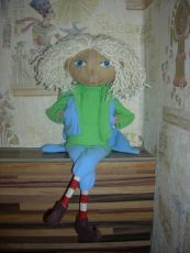 Кукла тыквоголовка – мастер-класс