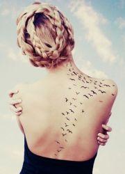 Татуировки птиц
