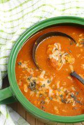 Сырный суп с фрикадельками – рецепт