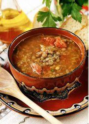 суп с чечевицей и говядиной