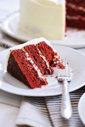 Торт красный бархат оригинальный
