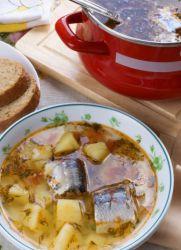 суп из сардины консервы с маслом