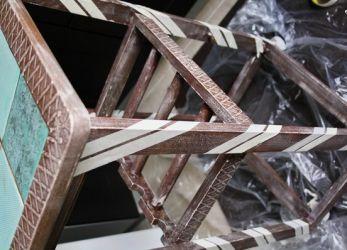 Декорирование старой мебели своими руками14
