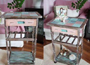 Декорирование старой мебели своими руками21