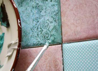 Декорирование старой мебели своими руками7