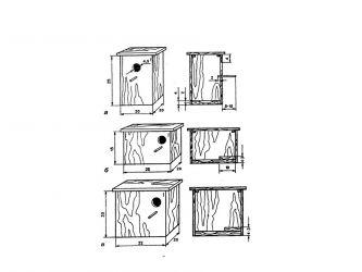 Гнездо для волнистых попугаев 1