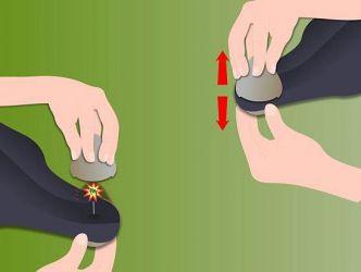 Как снять магнит с одежды4