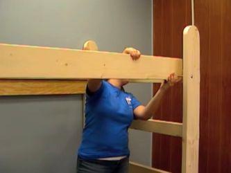 Кровать-чердак своими руками 10