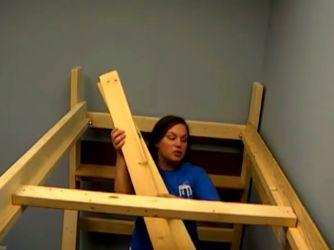 Кровать-чердак своими руками 14