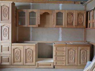 Кухня из дерева своими руками 20
