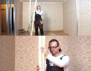Межкомнатная перегородка своими руками видео фото 475