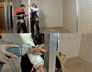 Межкомнатная перегородка своими руками видео фото 540