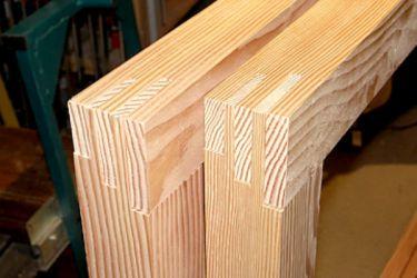 Как самому сделать окно из дерева