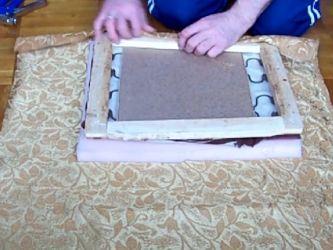 Перетянуть мягкую мебель своими руками