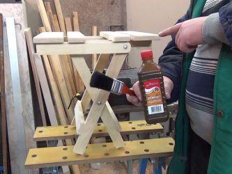 Раскладной стул своими руками 19