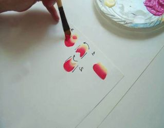 Рисунки на стенах своими руками2