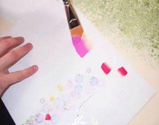 Рисунки на стенах своими руками3