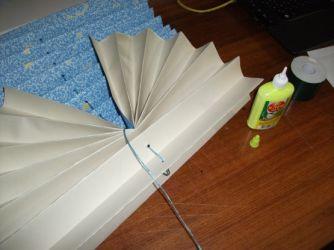 Бумажные жалюзи своими руками из обоев