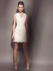 Элегантные короткие свадебные платья