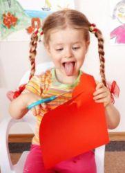 детские поделки из <em>как можно сделать поделку из клея цветной</em> цветной бумаги