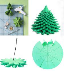 Сделать игрушки своими руками на елку поэтапно