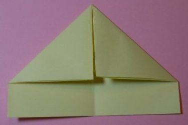 Как сложить кораблик из бумаги-3
