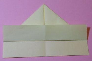 Как сложить кораблик из бумаги-4