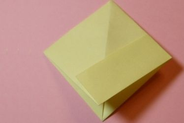 Как сложить кораблик из бумаги-7