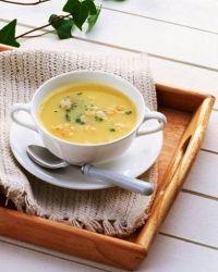 куриный крем суп с сыром