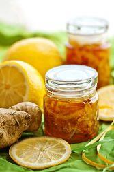лимонно имбирный конфитюр