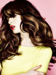 Модные оттенки волос 2015