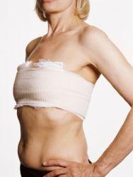 как правильно перетягивать грудь