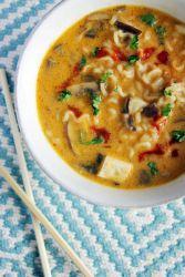 тыквенный постный суп