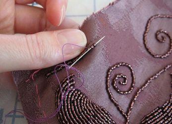 техника вышивки бисером 15