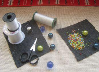 вышивка бисером для начинающих фото 1