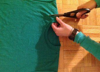 Как сделать майку из футболки18