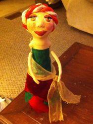 Кукла из бутылки своими руками