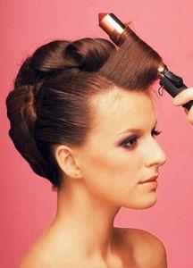 Как сделать высокую прическу на средние волосы