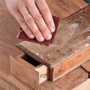 Как отреставрировать старый шкаф1