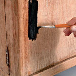 Как отреставрировать старый шкаф2