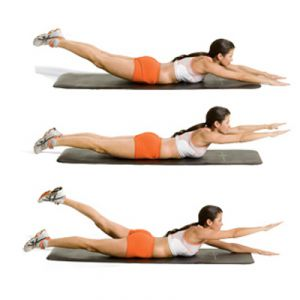 Упражнения для профилактики сколиоза